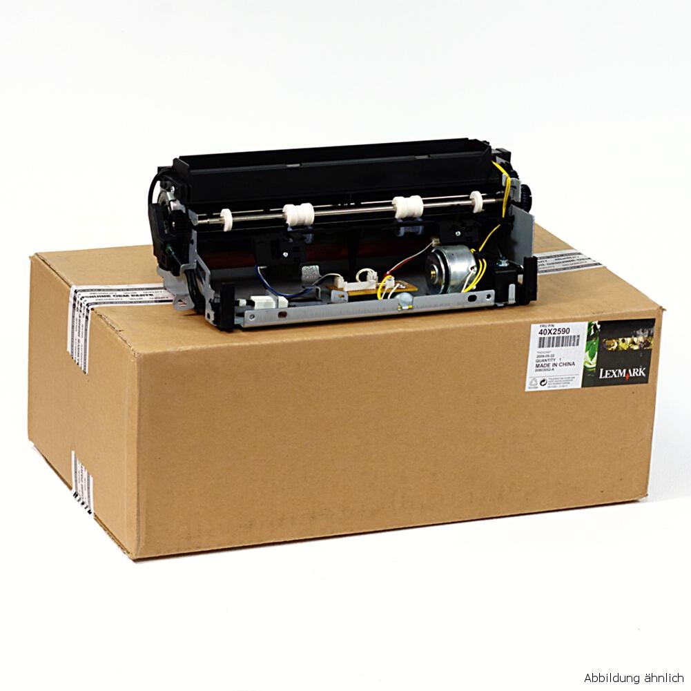 Lexmark 40X2590 Fuser Fixiereinheit Kit T640 T640DN T642 T642N T644 gebraucht