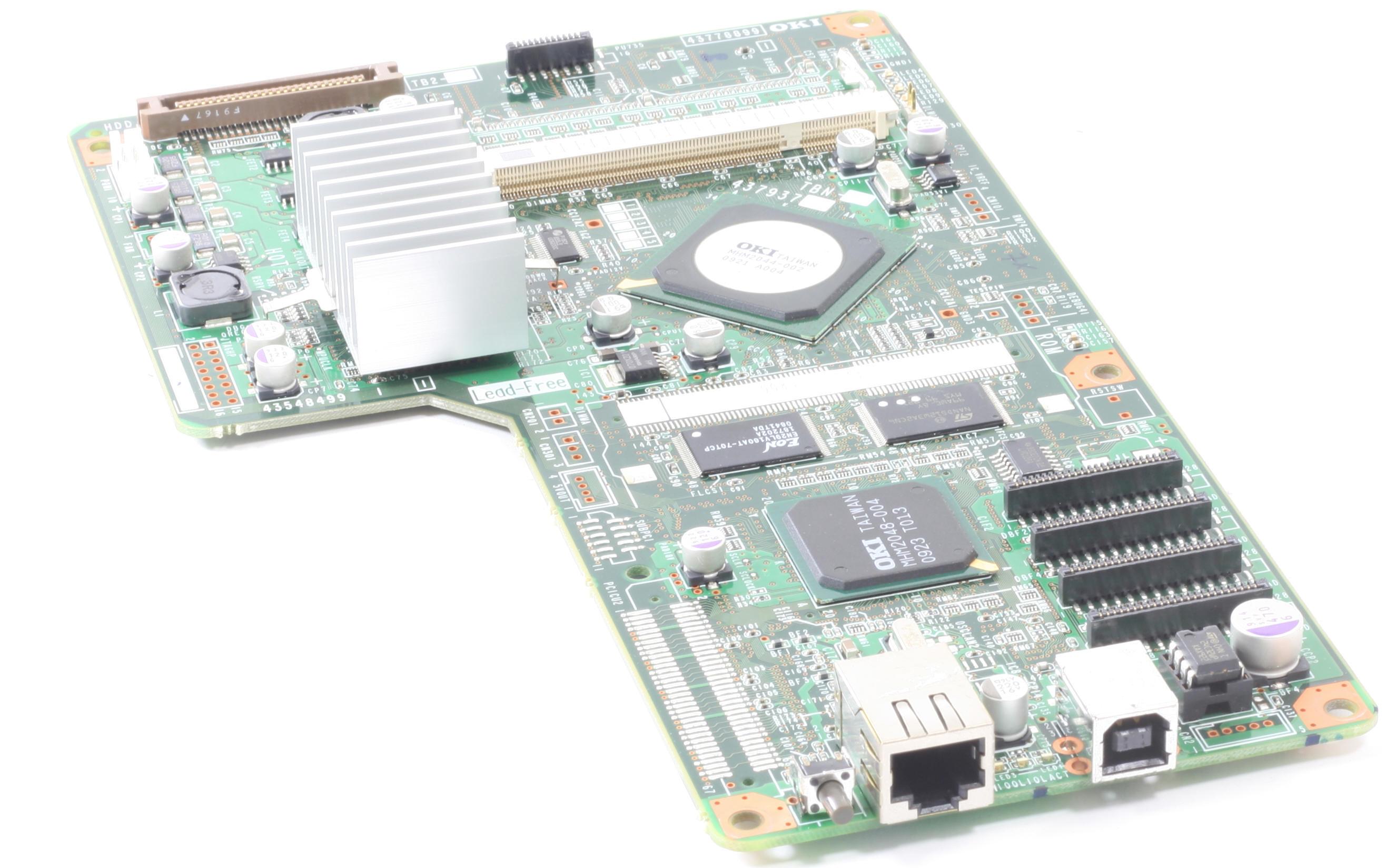 OKI Formatter 43548499 Board für C5950 C5950N C5950DN gebraucht