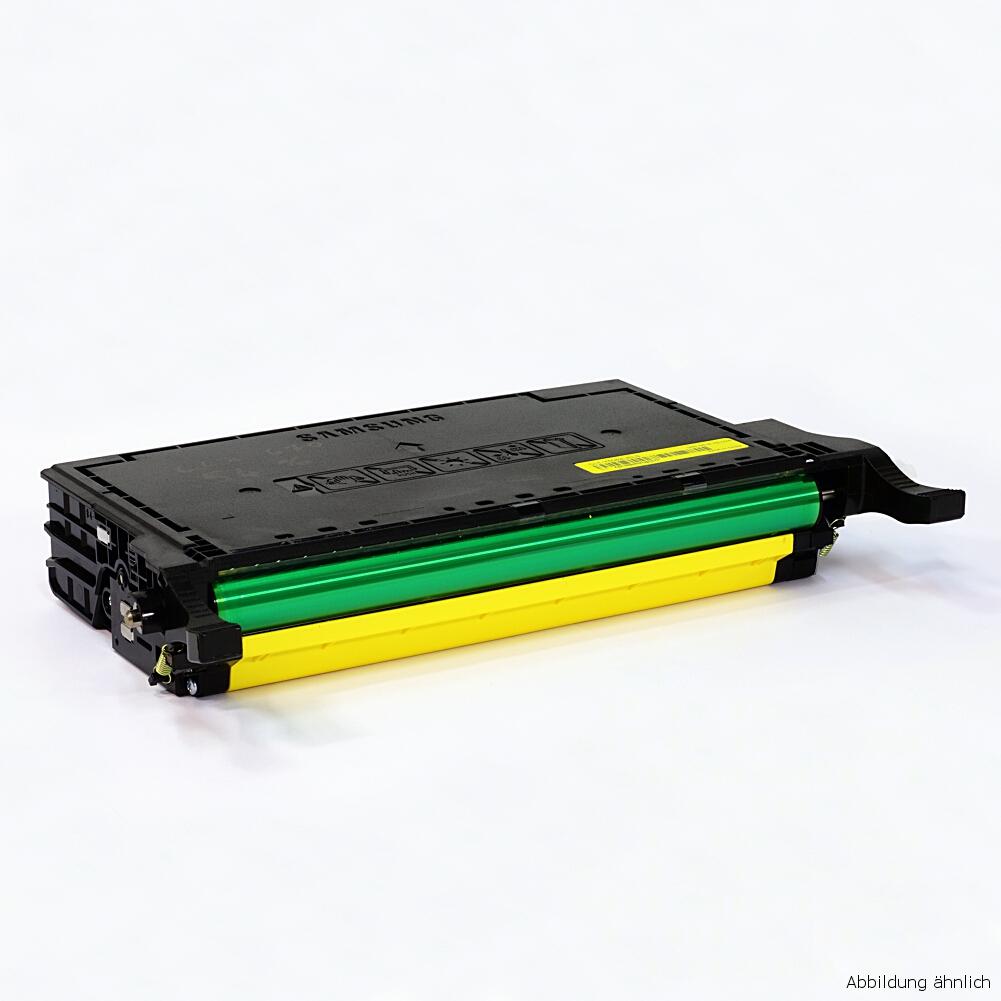Samsung CLP-Y660B Original Toner Gelb CLP-610 CLP-660 CLX-6210 gebraucht   Toner Füllstand 65% Toner