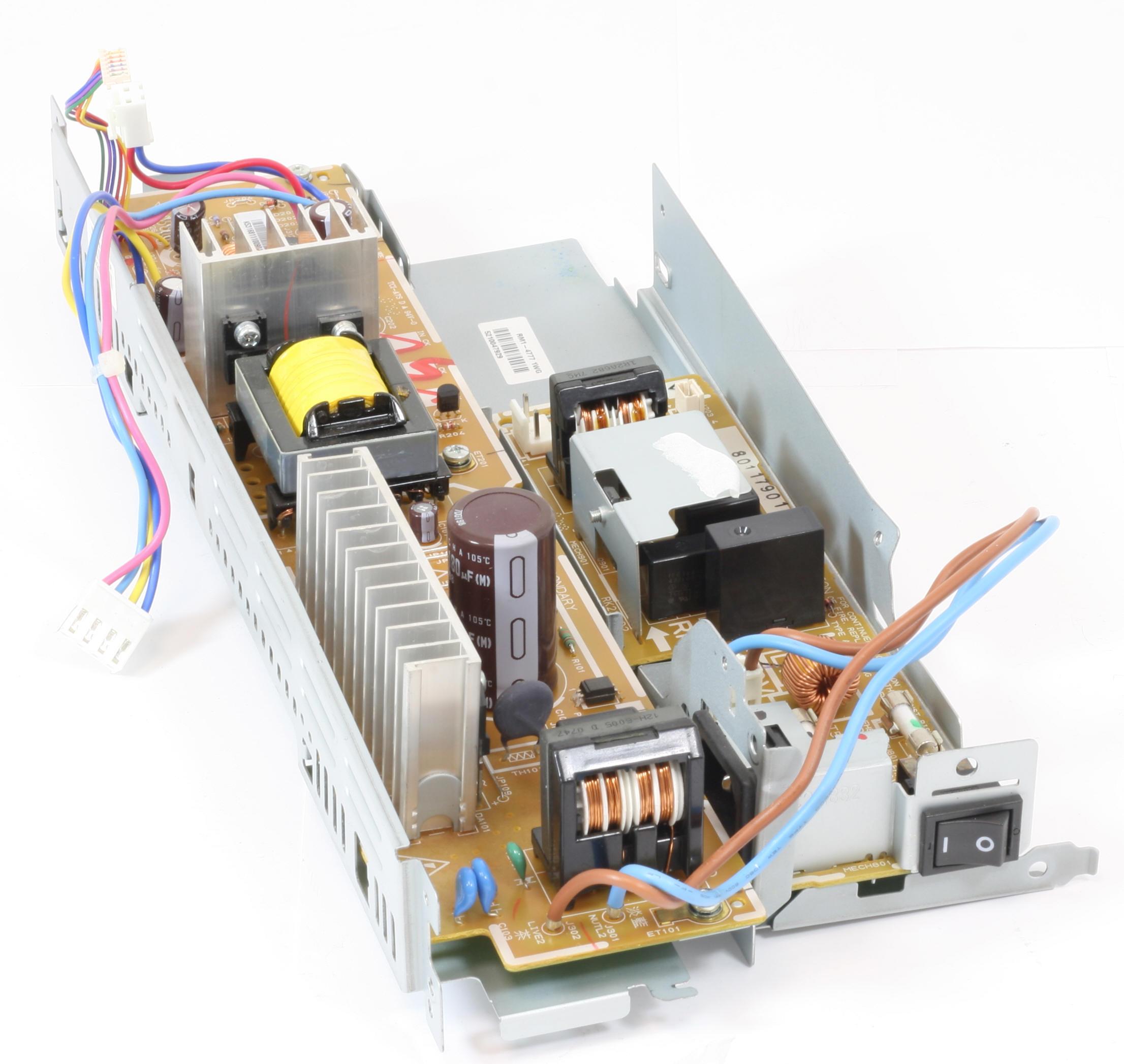 HP Netzteil RM1-5316 POWER SUPPLY Laserjet CM1312NFI CM1312NF gebraucht