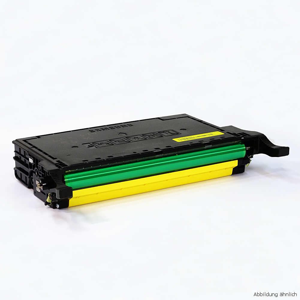 Samsung CLP-Y660B Original Toner Gelb CLP-610 CLP-660 CLX-6210 gebraucht   Toner Füllstand 60% Toner