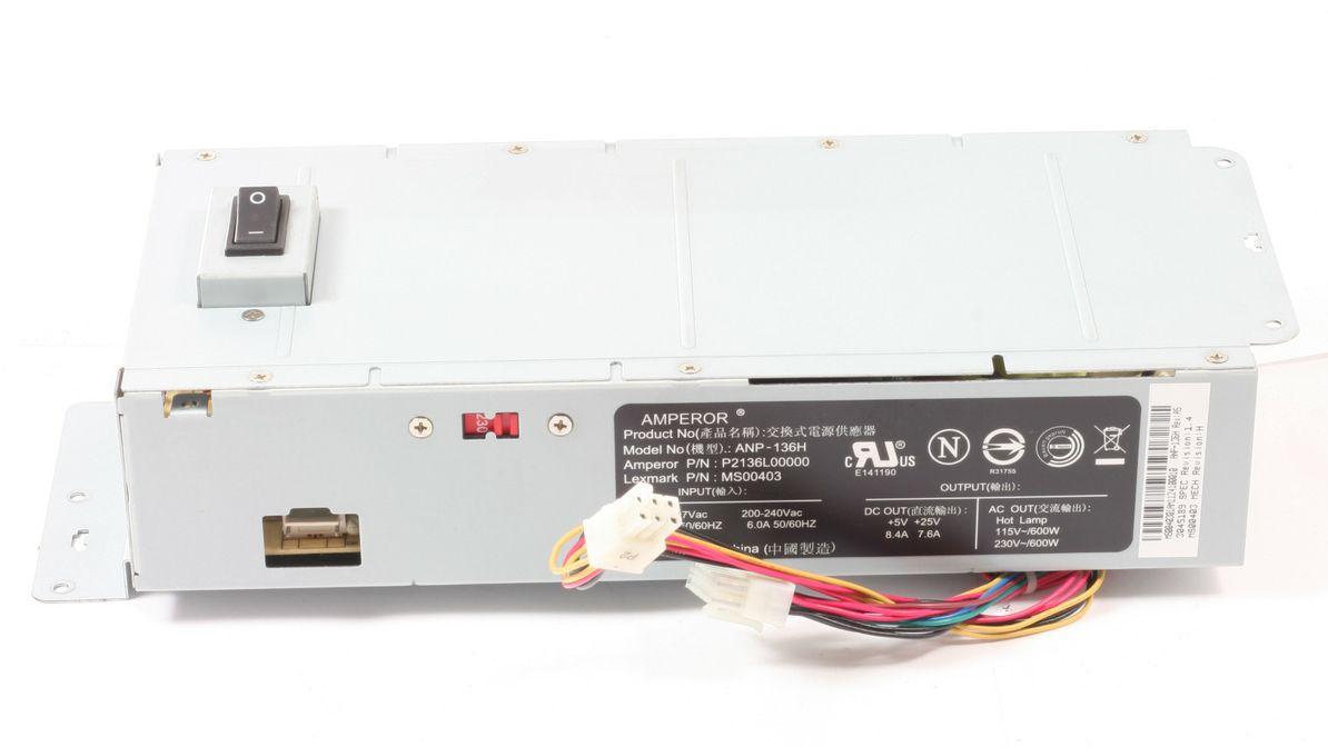 Lexmark Netzteil MS00403 POWER SUPPLY ANP-136 für X738de gebraucht