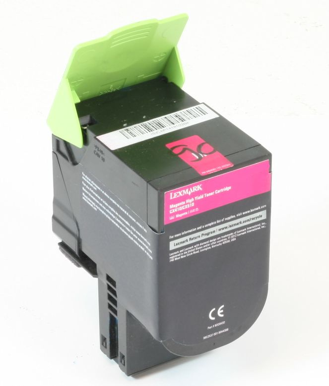Lexmark 702HM Original Toner Cyan CS310 CS410 CS510 gebraucht   Toner Füllstand 40% Toner