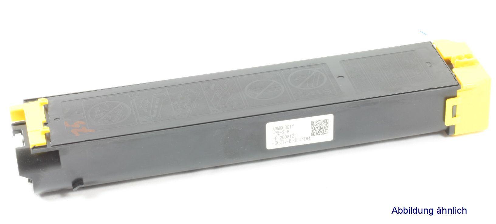 Sharp MX-C38GTY Original Toner Gelb MX-C310 MX-C311 MX-C380 gebraucht