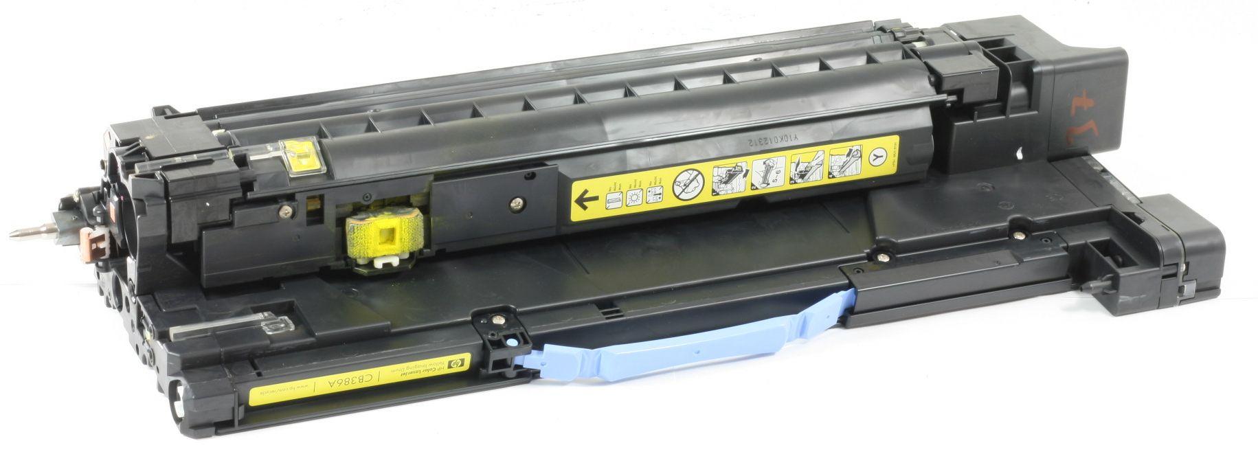 HP CB386A Original Trommel 824A Gelb Bildtrommel CP6015 CM6040 CM6030 gebraucht