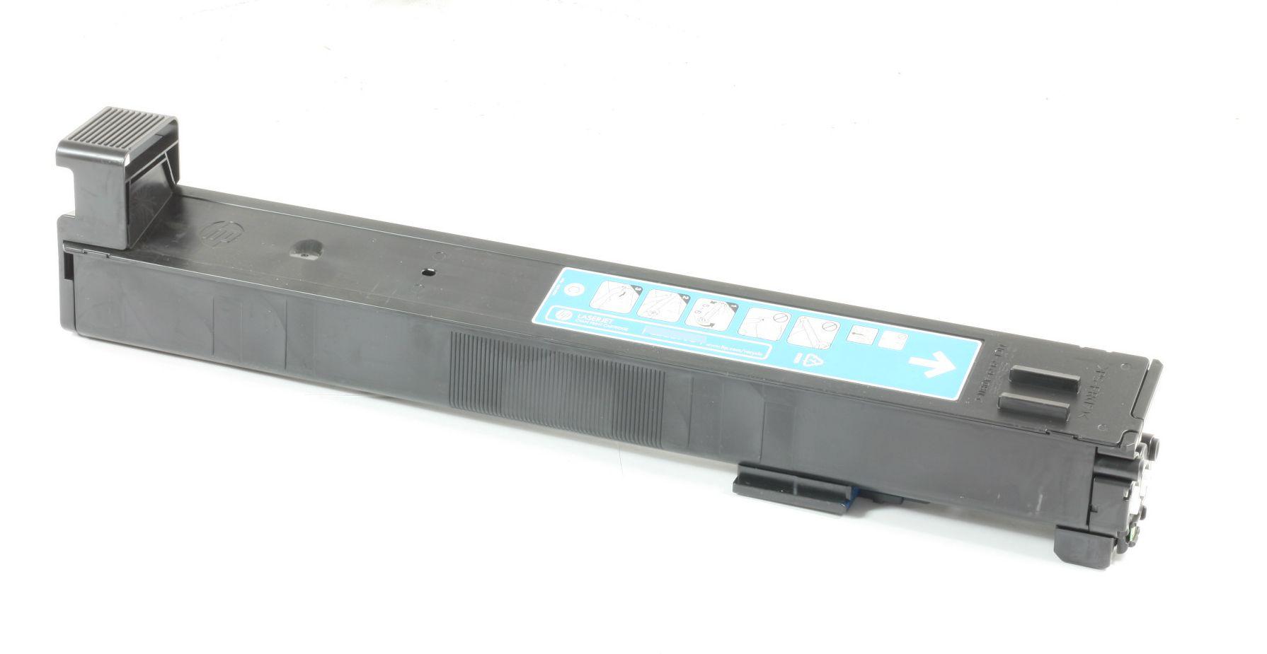 HP 823A Original Toner CB381A Cyan CP6015 CM6030 CM6040 gebraucht