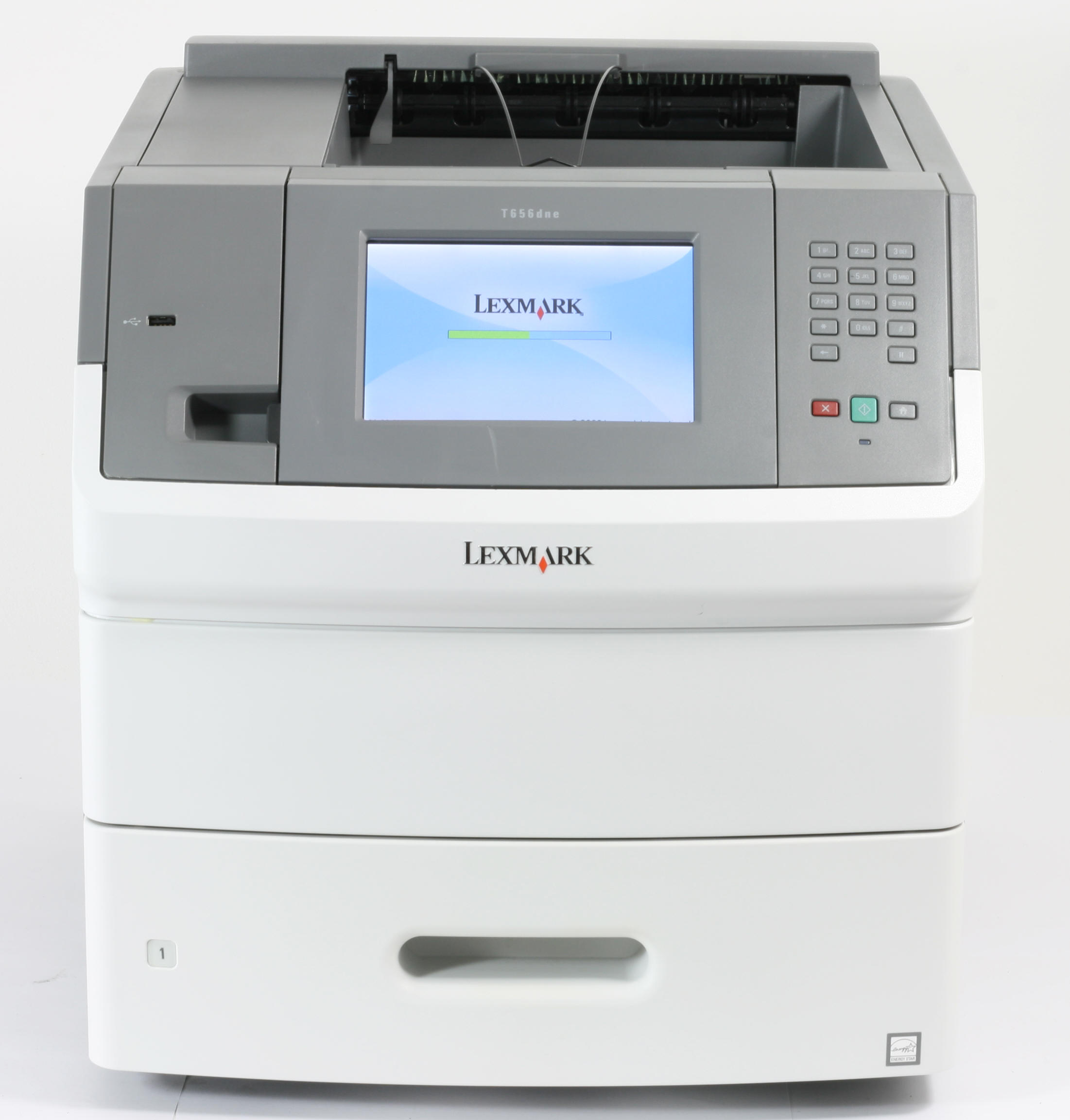 Lexmark T656dne Drucker Nezwerk Duplex Laserdrucker gebraucht unter 150.000 Seiten