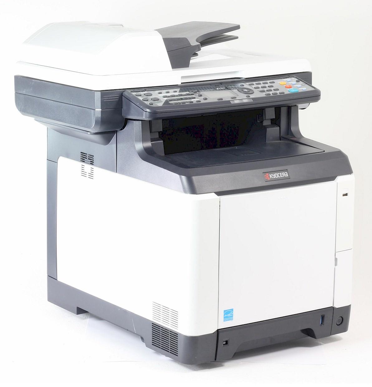 Kyocera FS-C2026 MFP+ Drucker Laserdrucker Kopierer Scanner Fax Color gebraucht /  unter 10.000 Seiten