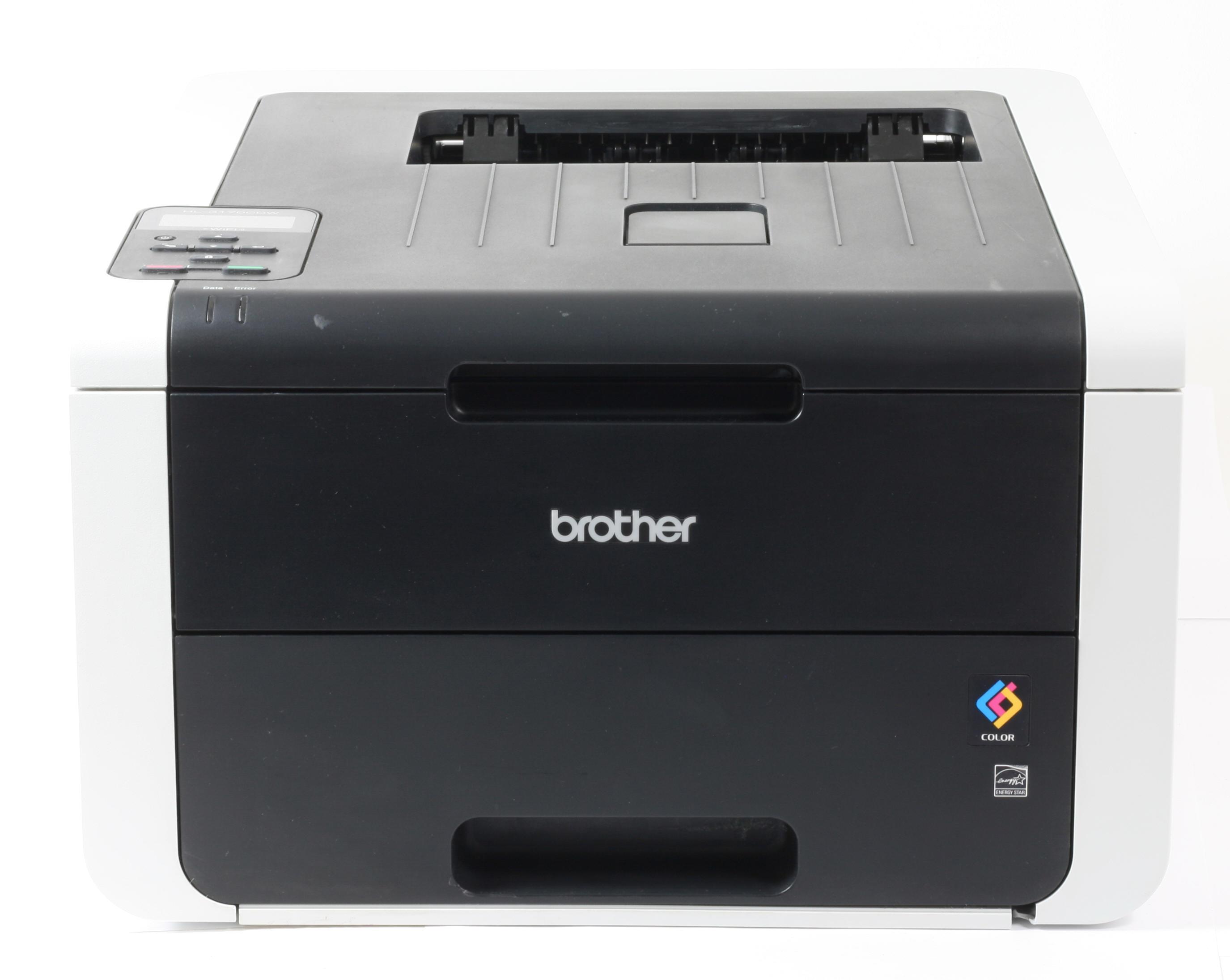 Brother Drucker HL-3170CDW Drucker WLAN WiFi Farblaserdrucker gebraucht unter 20.000 Seiten