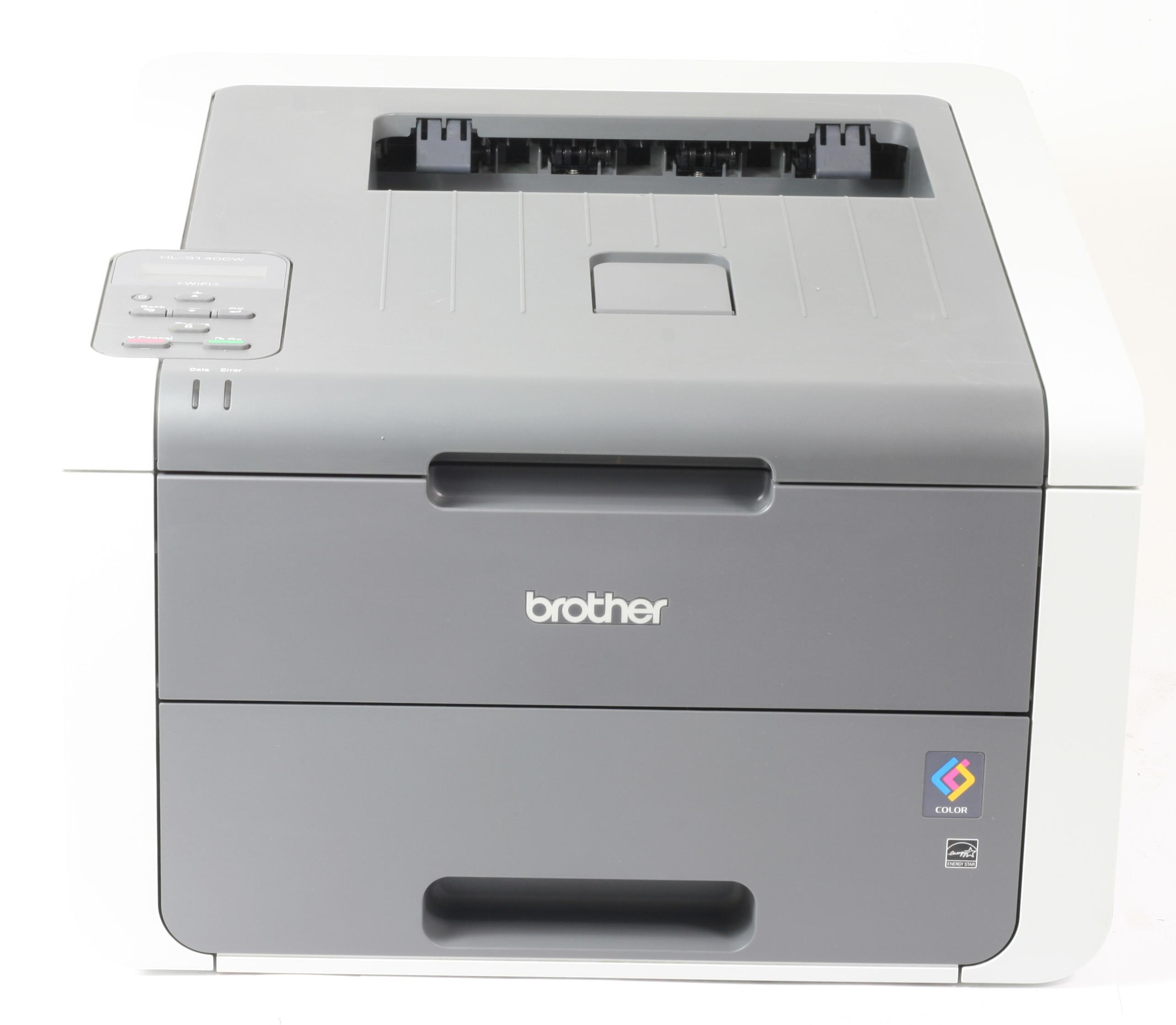 Brother Drucker HL-3140CW Drucker WLAN WiFi Farblaserdrucker gebraucht unter 5.000 Seiten