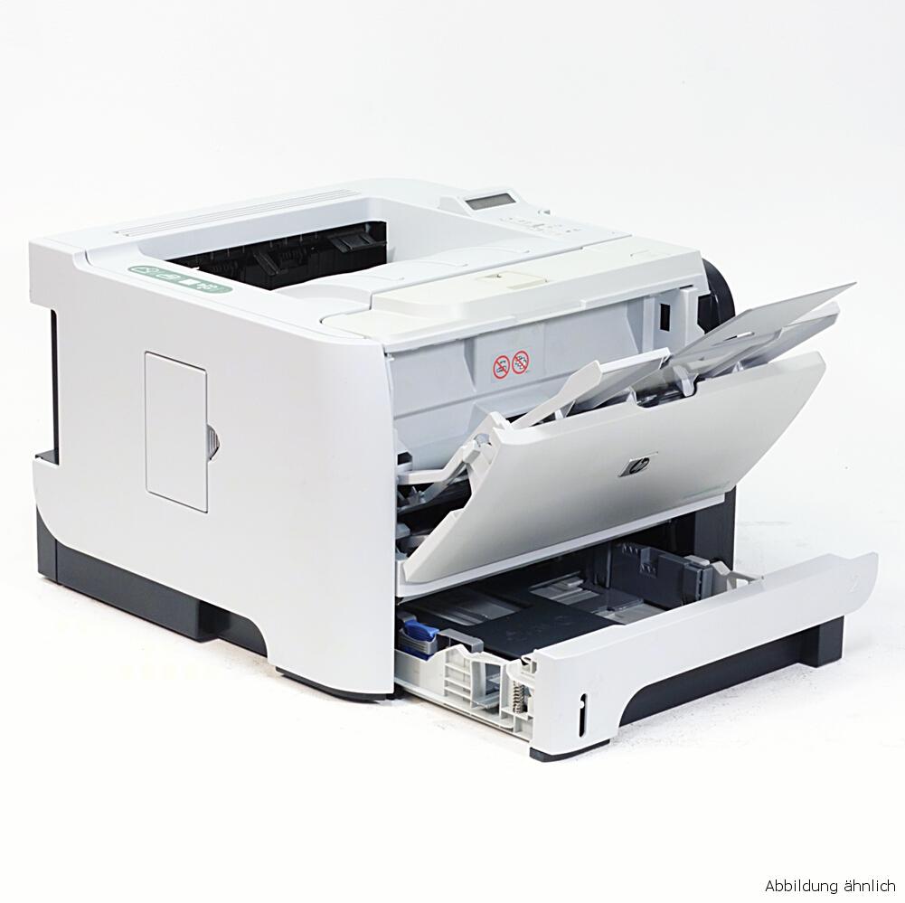 HP Drucker P2055DN Laserjet Duplex Netzwerk Laserdrucker gebraucht unter 5.000 Seiten gedruckt