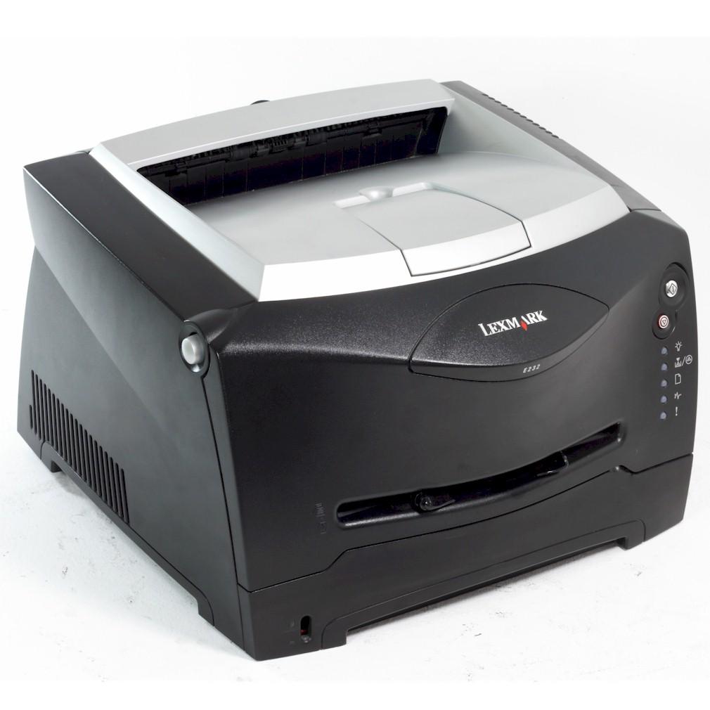 Lexmark E332N Drucker Leserdrucker mit Netzwerk gebraucht unter 30.000 Seiten gedruckt