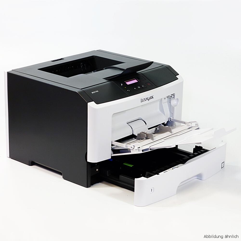 Lexmark Drucker MS410DN Laserdrucker gebraucht unter 30.000 Seiten gedruckt