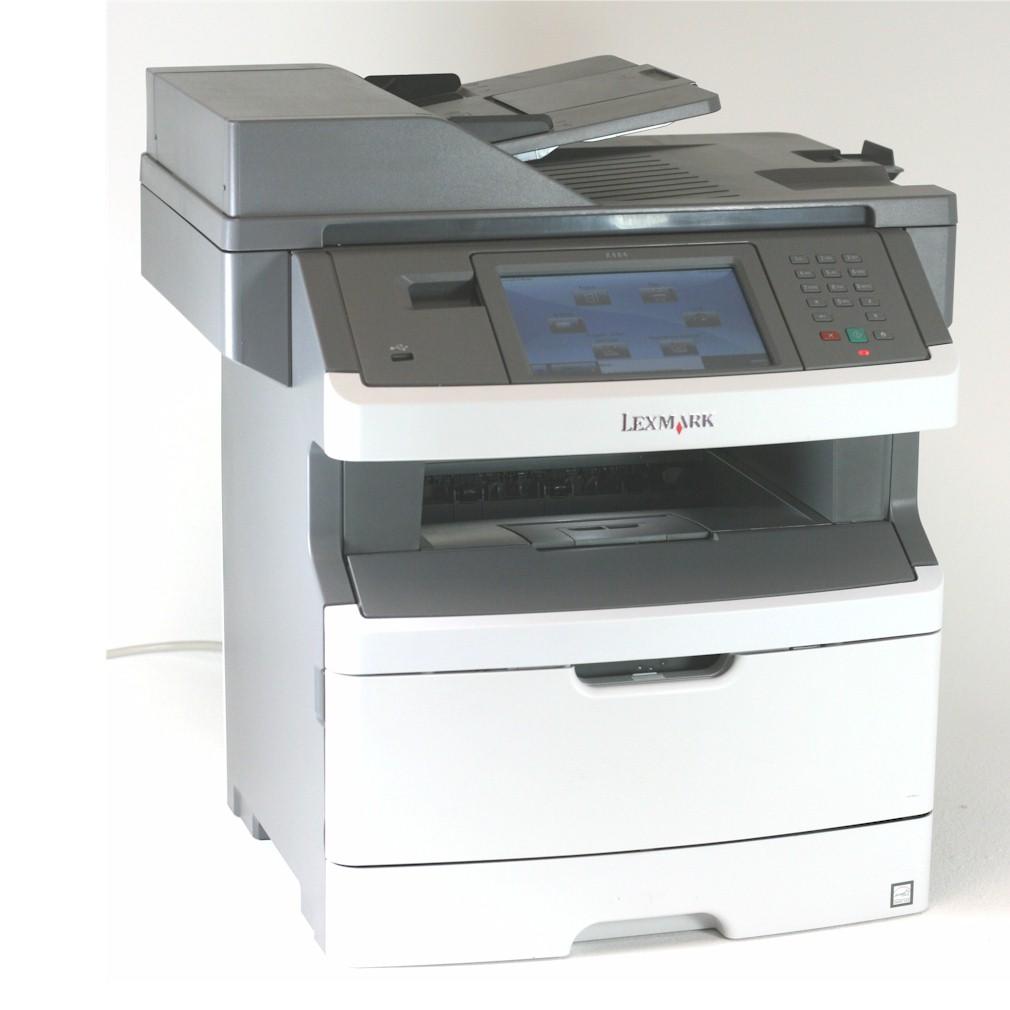 Lexmark Drucker X464de Multifunktionsgerät  Kopierer Scanner Fax gebraucht /  unter 40.000 Seiten gedruckt