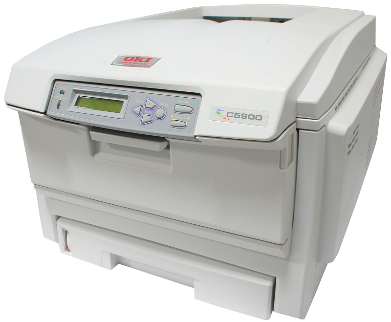 OKI Drucker C5900N Color Netzwerk Laserdrucker gebraucht nicht zutreffend