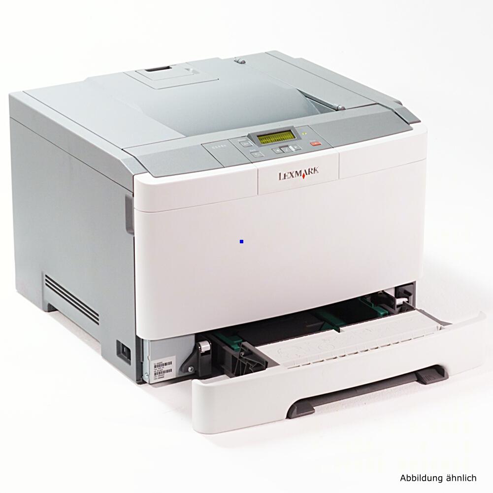 Lexmark C544N Drucker Color Netzwerk Laserdrucker gebraucht unter 500 Seiten gedruckt