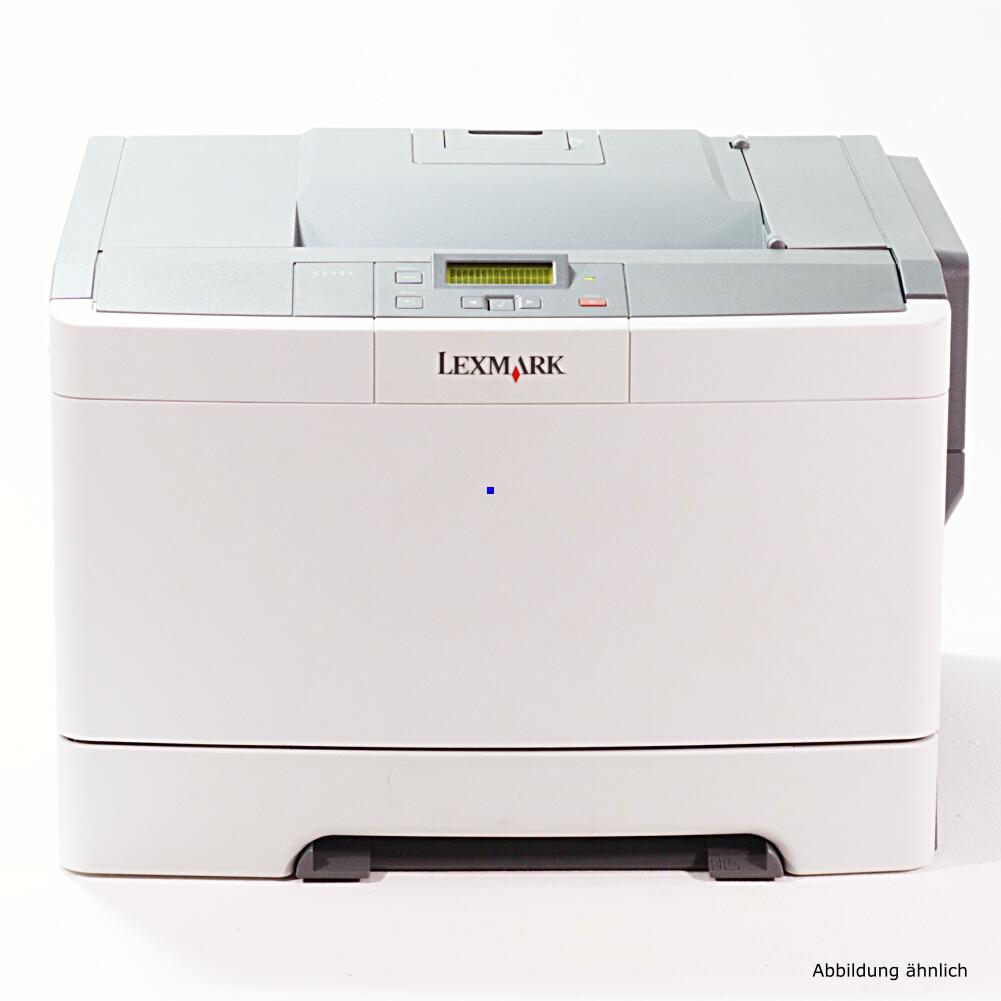 Lexmark C544N Drucker Color Netzwerk Laserdrucker gebraucht unter 30.000 Seiten gedruckt