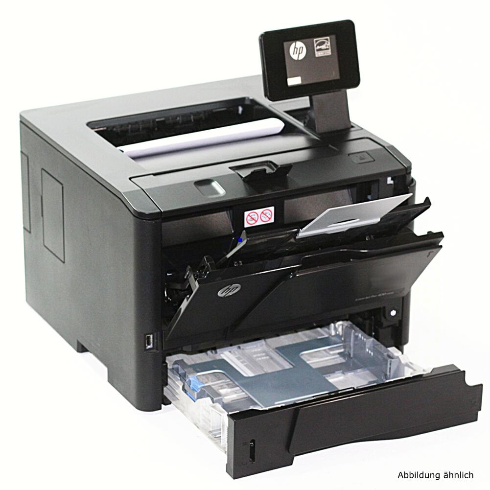 HP Drucker M401dn Laserjet Pro 400 ePrint AirPrint Laserdrucker gebraucht unter 75.000 Seiten gedruckt