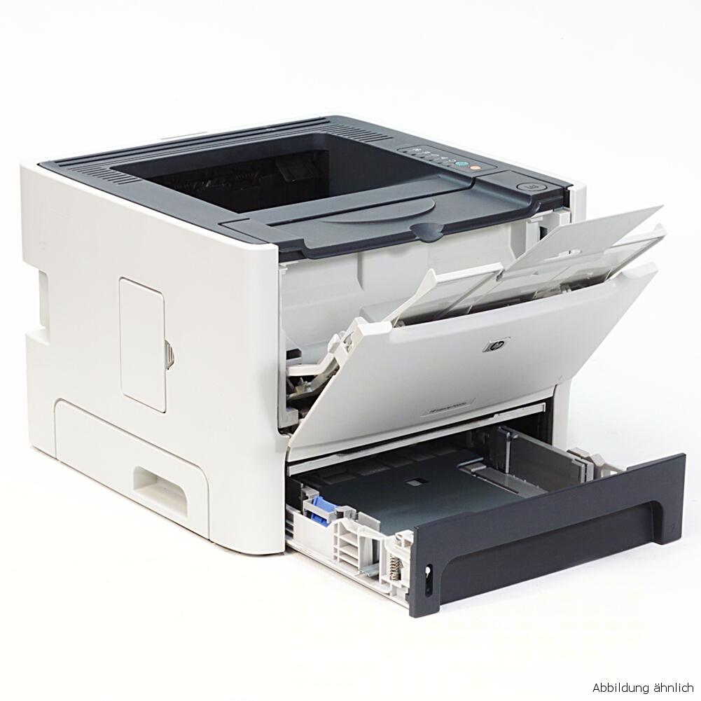 HP Drucker Laserjet P2014 Laserdrucker gebraucht unter 50.000 Seiten gedruckt