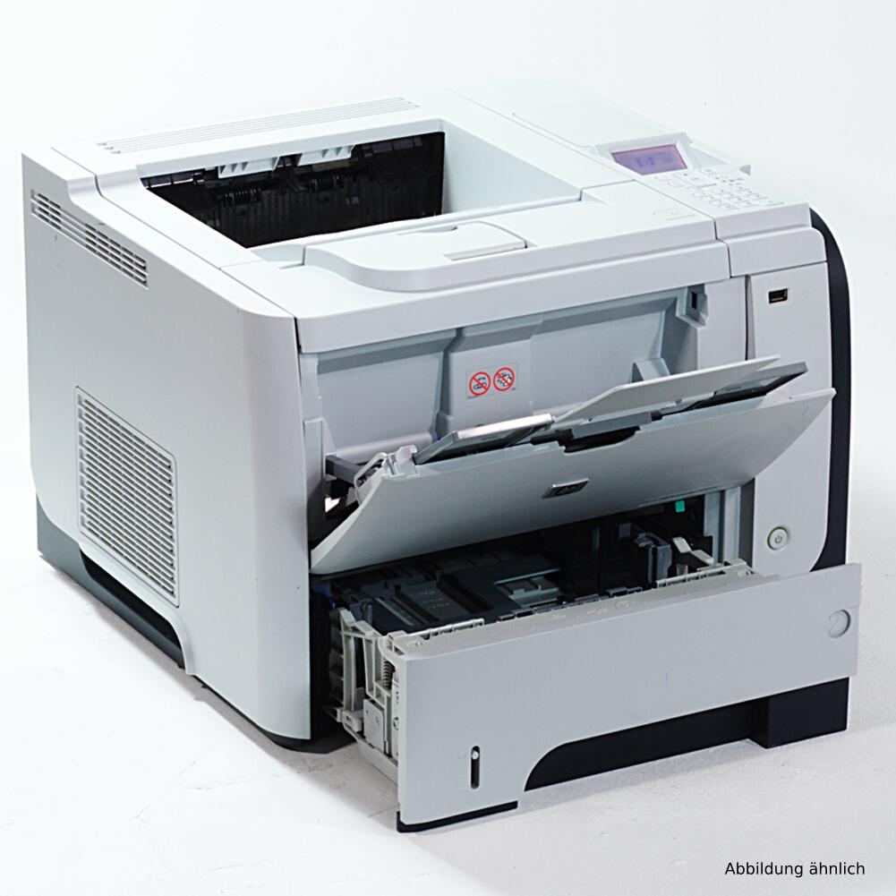 HP Drucker P3015DN Laserjet Duplex Netzwerk Laserdrucker gebraucht mehr als 150.000 Seiten gedruckt