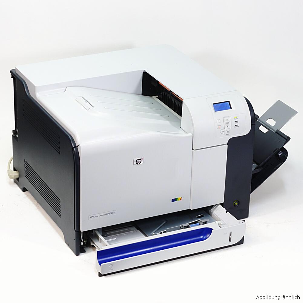 HP Drucker CP3525DN Laserjet  Laserdrucker gebraucht unter 40.000 Seiten gedruckt