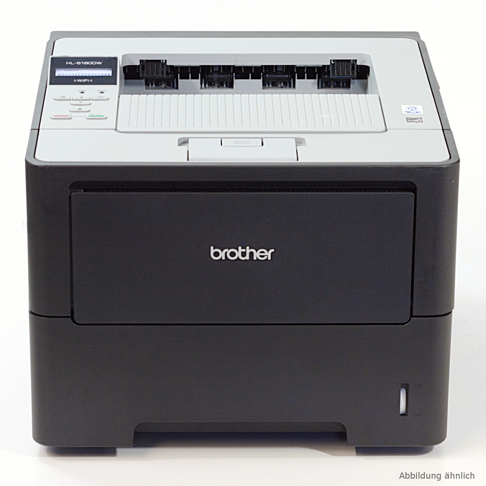 Brother Drucker HL-6180DW WLAN Netzwerk Laserdrucker Wi-Fi gebraucht