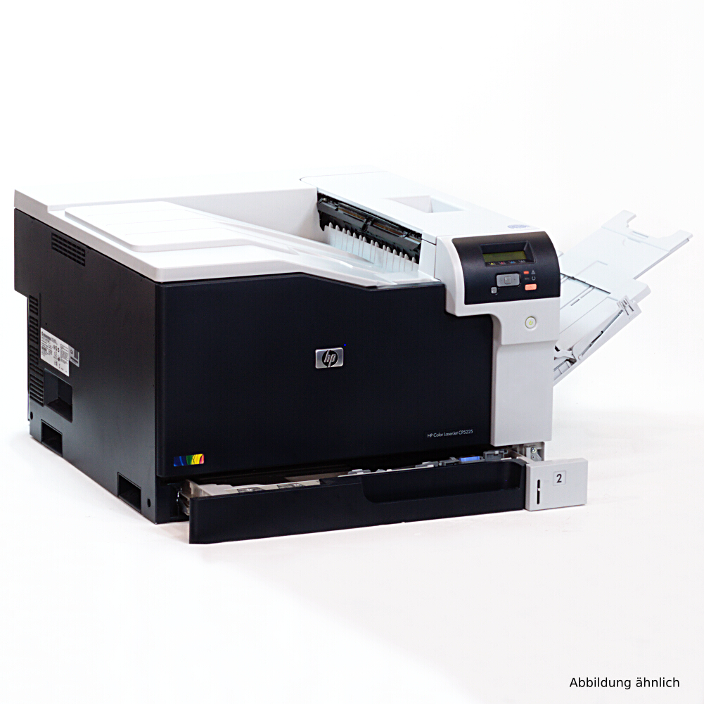 HP Drucker CP5225N DIN A3  Color Laserjet  Nezwerk Laserdrucker unter 10.000 Seiten gedruckt