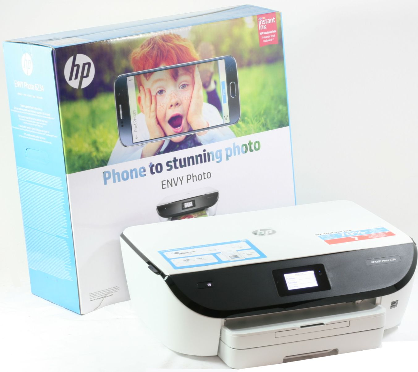 HP Envy Photo 6234 Drucker Scanner Kopierer Wireless AirPrint ePrint WLAN - NEU