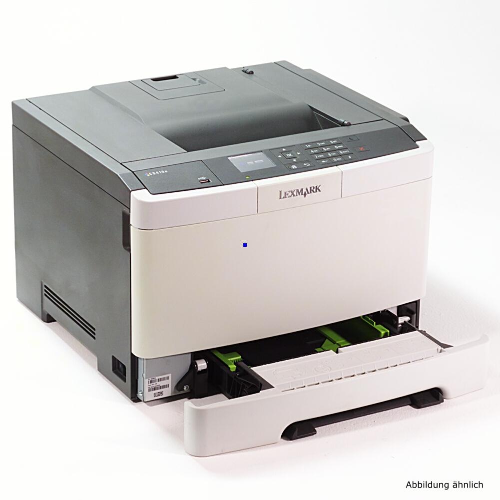 Lexmark CS510de Color Drucker Laserdrucker gebraucht unter 10.000 Seiten gedruckt