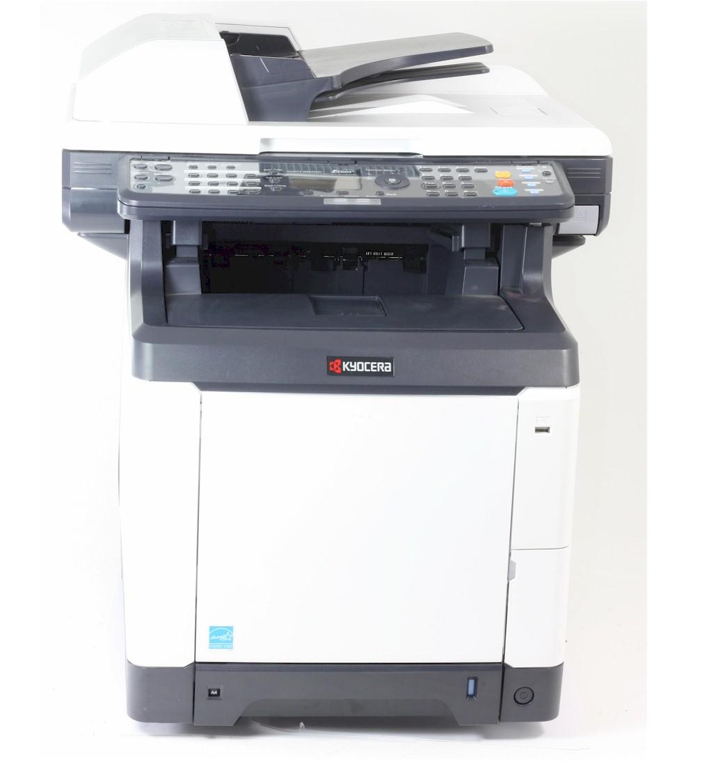 Kyocera M6026cdn MFP Drucker Laserdrucker Kopierer Scanner Color gebraucht