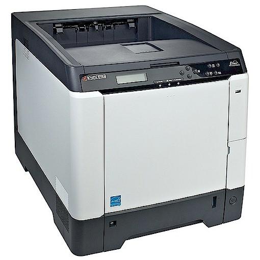 Kyocera Ecosys P6026cdn Drucker Color mit Duplex und Netzwerk gebraucht unter 75.000 Seiten gedruckt