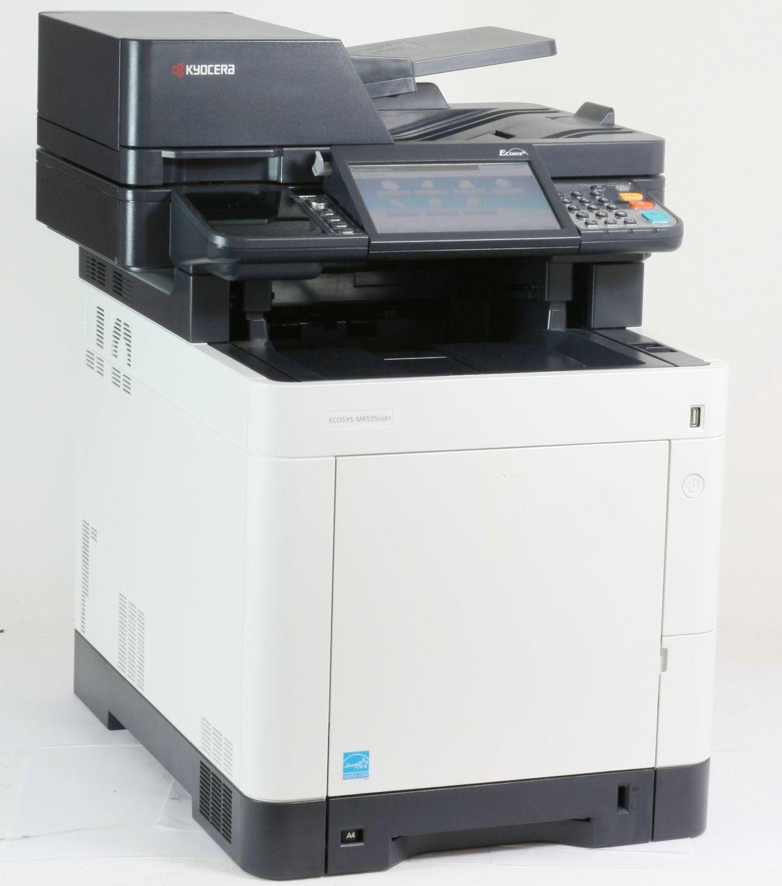 Kyocera M6535cidn Drucker Laserdrucker Kopierer Scanner Fax Color gebraucht
