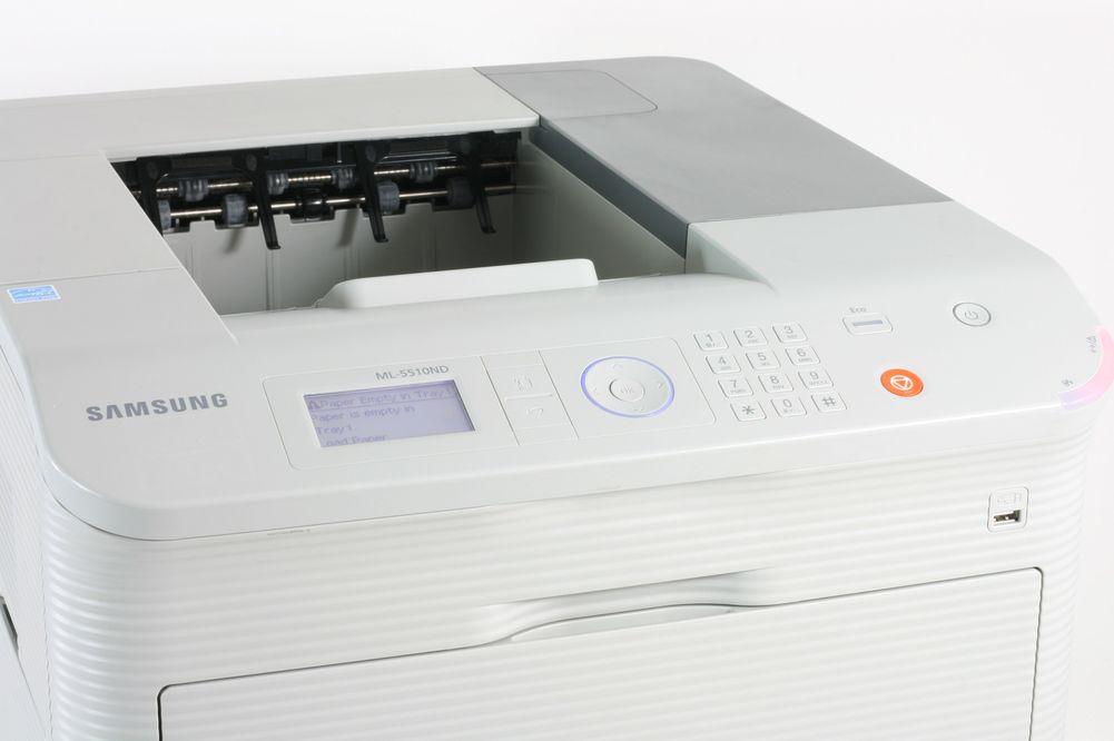 Samsung ML- 5510 ND T mit Netzwerk und Duplex Laserdrucker gebraucht
