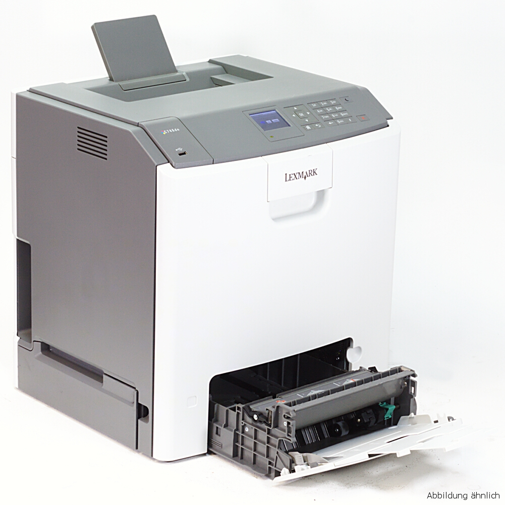 Lexmark C736DN Color Drucker Laserdrucker gebraucht unter 50 Seiten gedruckt