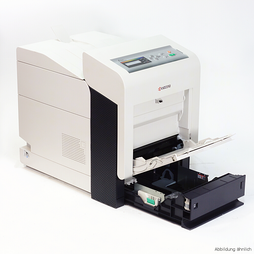 Kyocera Ecosys P6030cdn Drucker Color mit Duplex und Netzwerk gebraucht unter 75.000 Seiten gedruckt