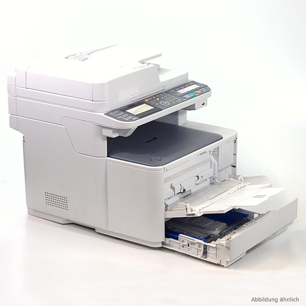 OKI MB-471W Multifunktionsgerät Laserdrucker Drucker Kopierer Scanner Fax gebraucht