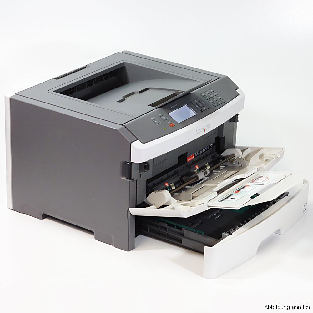 Lexmark Drucker E462DN Laserdrucker mit Duplex Netzwerk