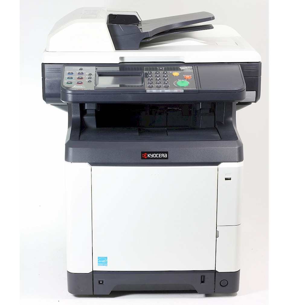 Kyocera M6026Cidn MFP Drucker Laserdrucker Kopierer Scanner Color gebraucht