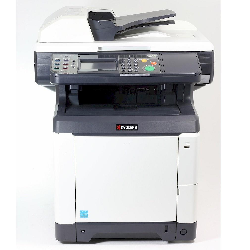 Kyocera FS-C2626 MFP Drucker Laserdrucker Kopierer Scanner Fax Color gebraucht