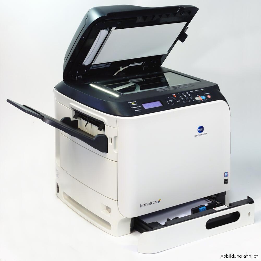 Konica Minolta bizhub c20 Drucker Kopierer Scanner Color gebraucht