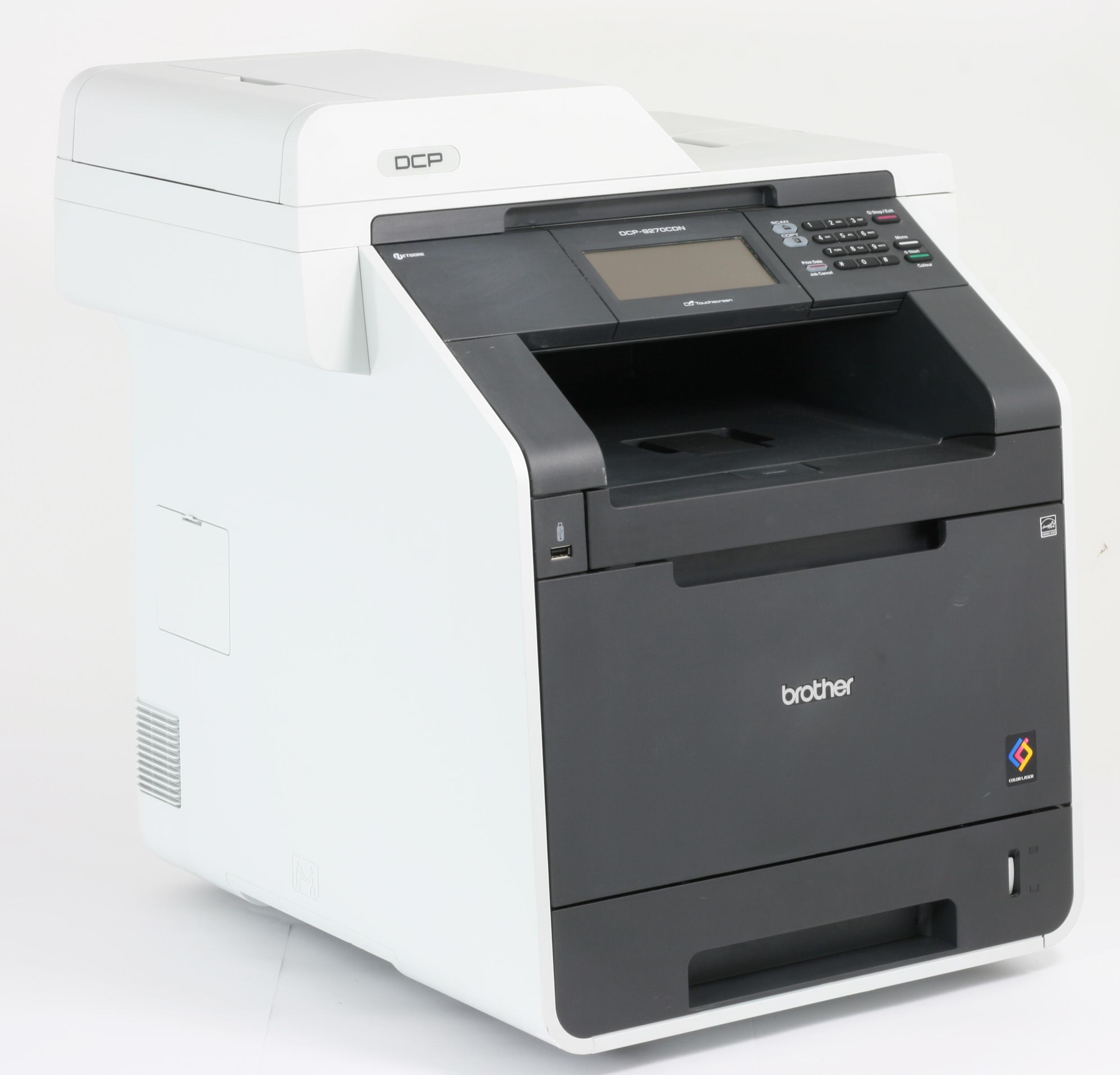 Brother Drucker DCP-9270CDN Laserdrucker Kopierer Scanner Color gebraucht