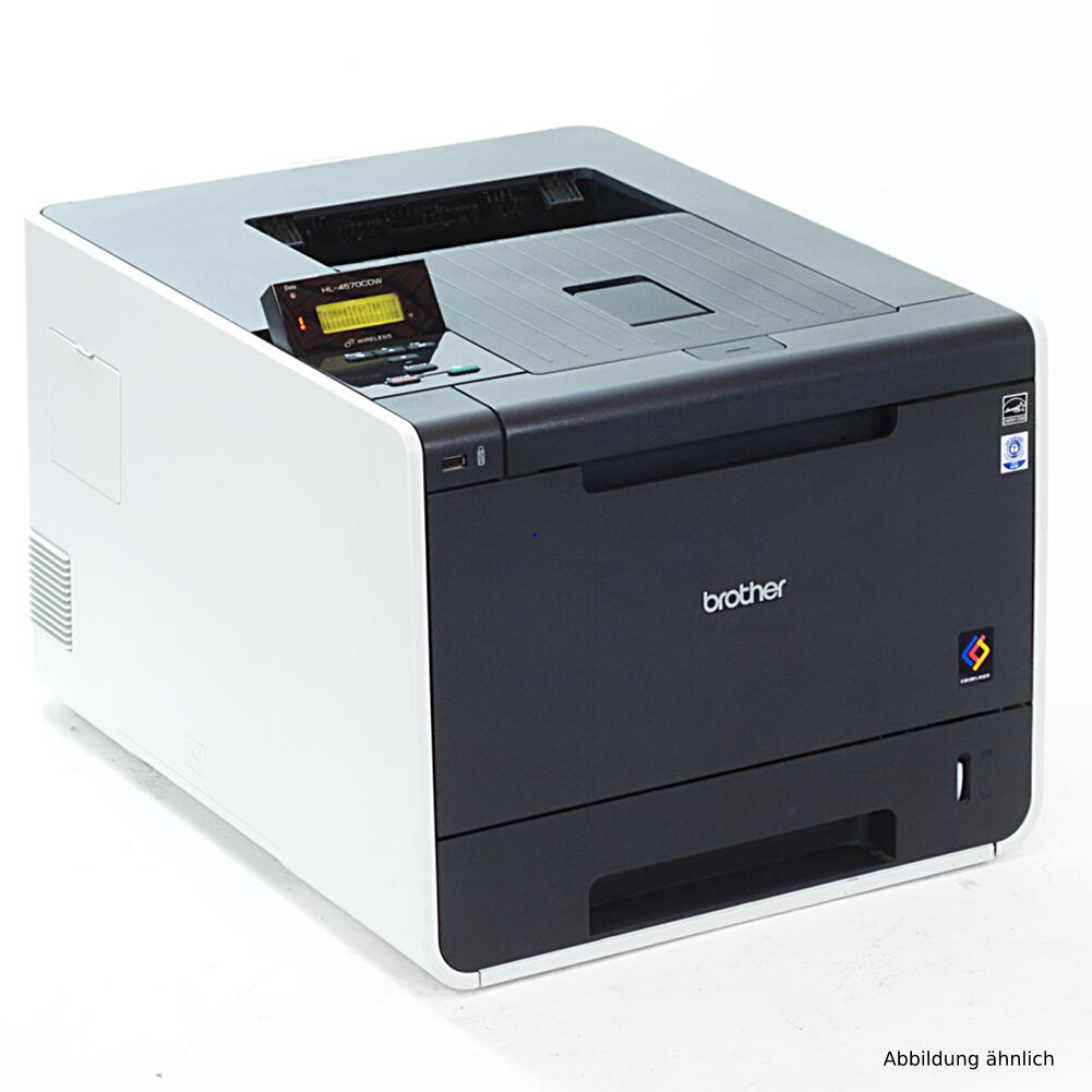 Brother Drucker HL-L8250CDN Drucker Farblaserdrucker gebraucht unter 5.000 Seiten gedruckt