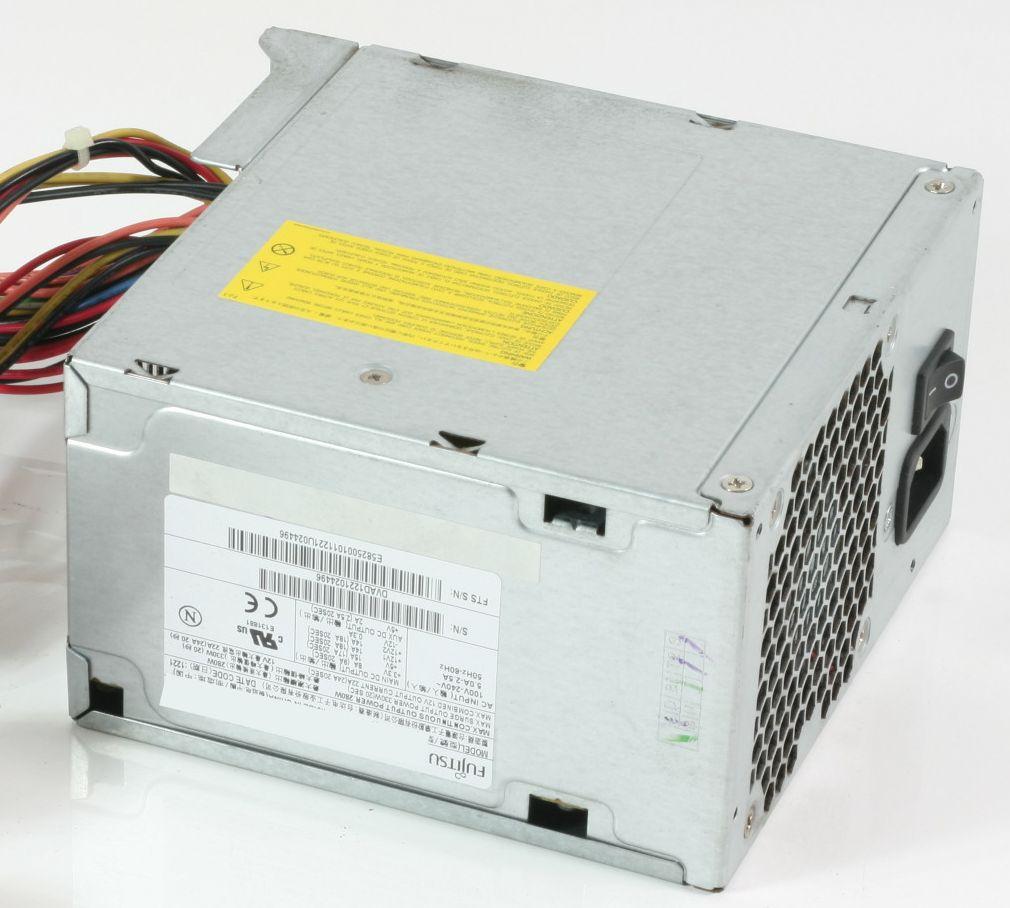 Netzteil ATX Fujitsu S26113-E547-V50-01 für Esprimo 300W DPS-300AB-44 A gebraucht
