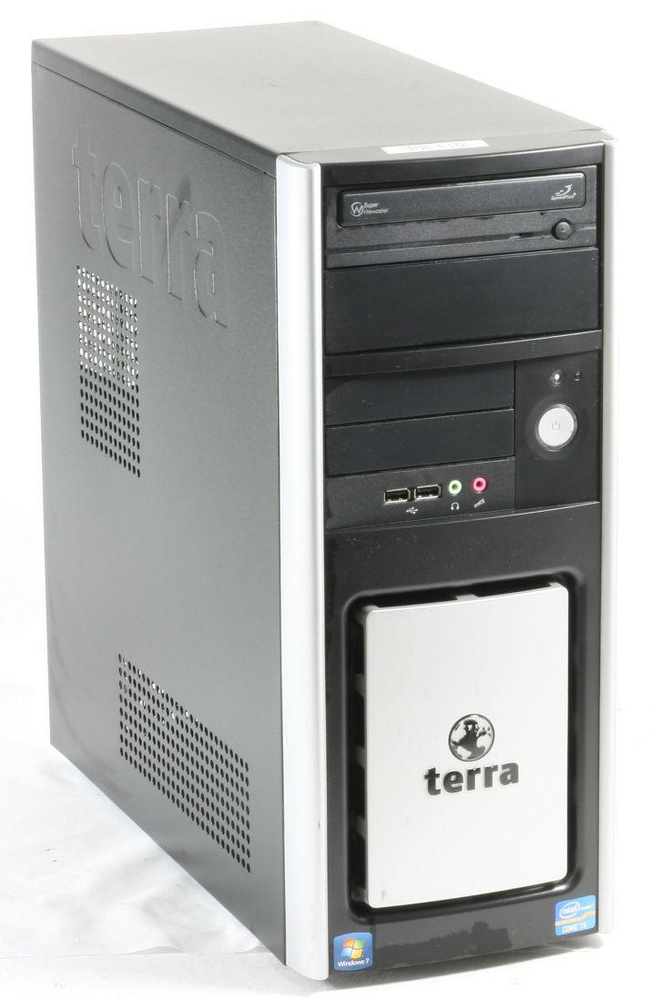 Terra Computer Core 2 Duo - E7500 2x 2,93GHz PC HDD 160GB Arbeitsspeicher 4GB