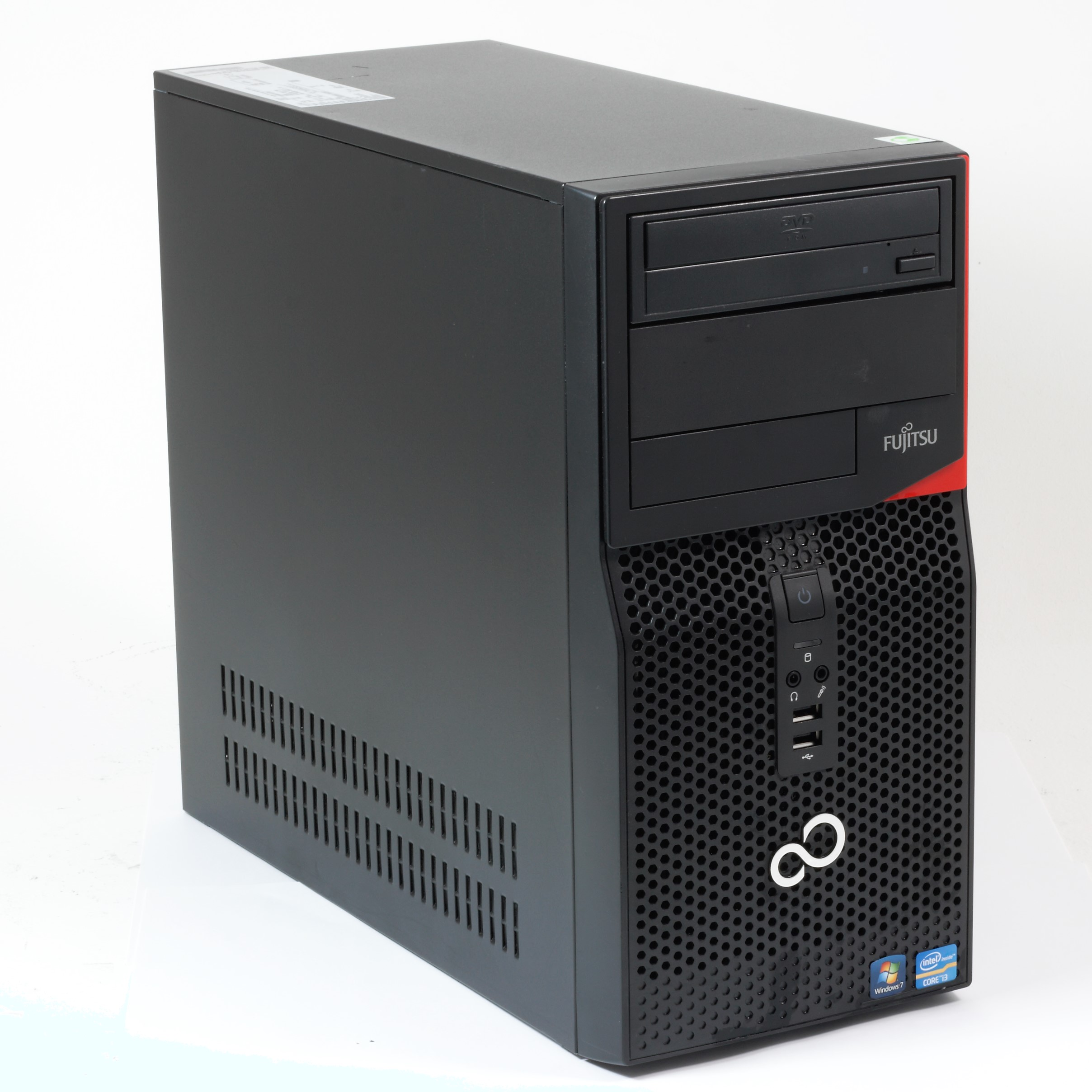 Fujitsu Esprimo P420 Minitower PC Core i3 4130 3,4GHz 500GB HDD 4GB RAM DVD-ROM
